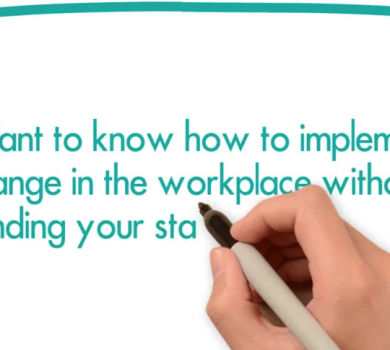 Implement Change in the Workplace
