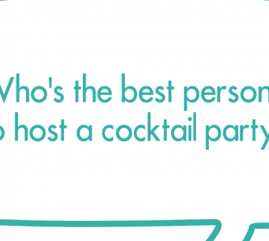 who is the best person to host a cocktail party