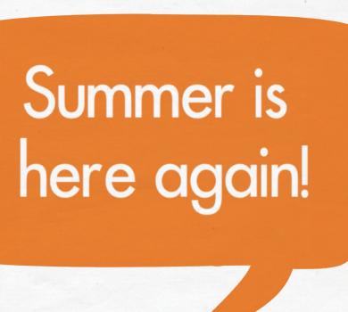 summer is here again