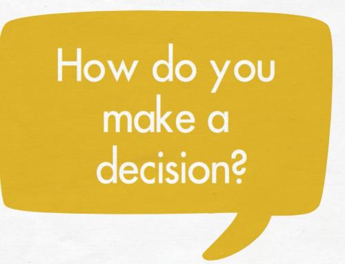 How do you make a decision?